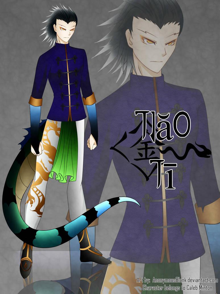 RWBY OC Commission: Jiao Ji by AnonymousBlank on DeviantArt
