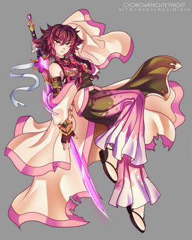 Gyoiko the Blossom Samurai