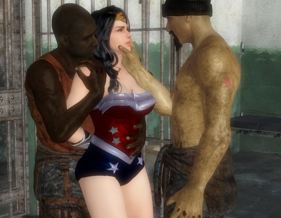 Wonder Woman in Prison by justhappy882