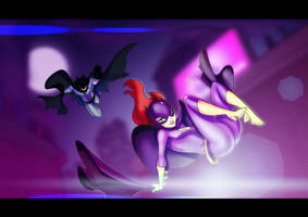 Batgirl Fun by AviKishundat