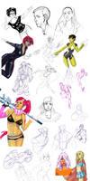 Sketch Dump Vol. 8 by AviKishundat