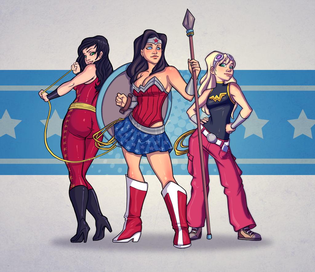Wonder Trinity by AviKishundat
