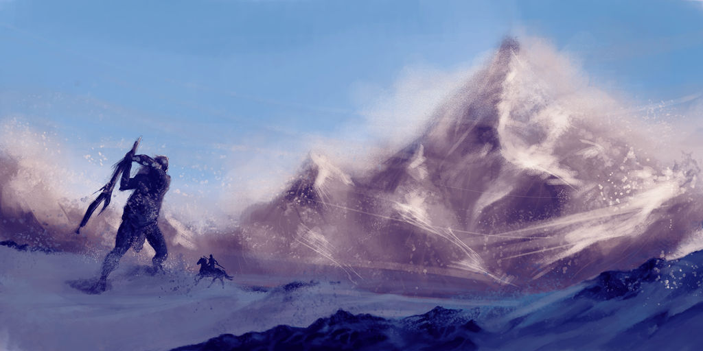 Snow Troll Speed Painting