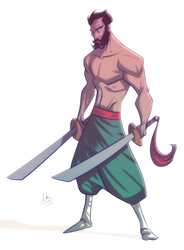 Ra's Al Ghul by AviKishundat