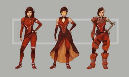 Sci-Fi Female Character Design