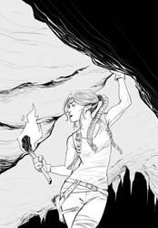 Lara Croft by AviKishundat