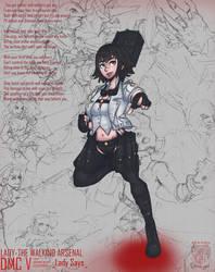 Pro Demon Hunter Lady by MinstrelScrewTape