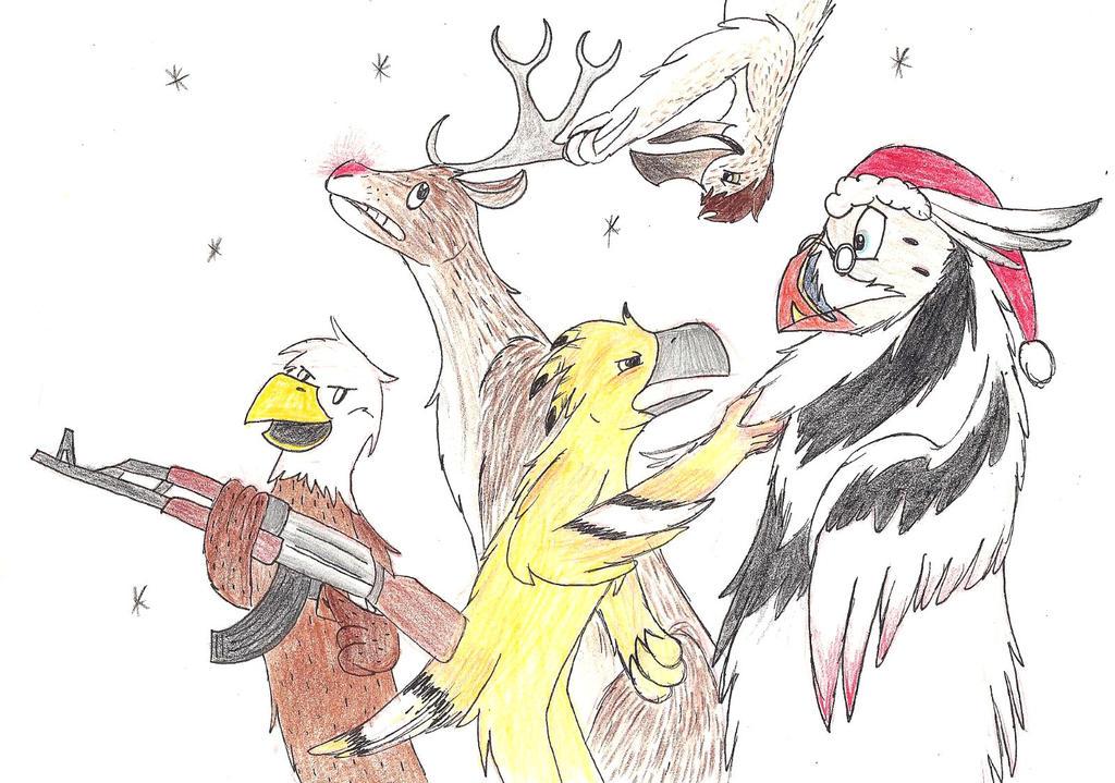 Kinks Father Christmas.Okgoose X 1 Father Christmas Kinks Cover By Projectowl On