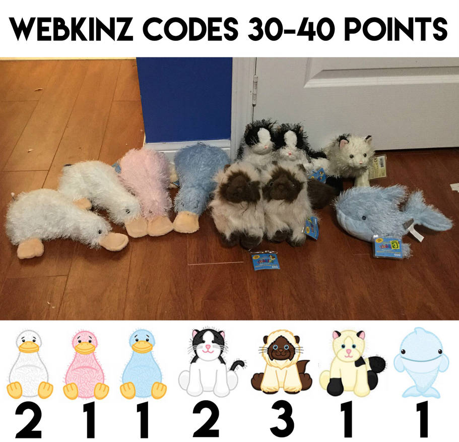 Selling Webkinz Codes for Points - CLOSED by ProjectOWL on DeviantArt