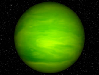 Green Gas Giant by Jaxed