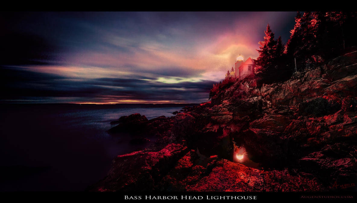 Bass Harbor Head Lighthouse (photograph) by AugenStudios