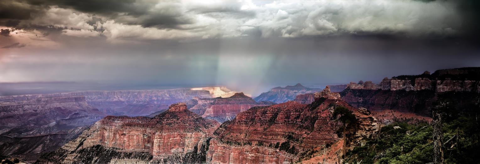 The Glowing Canyon (Shot on Ektar 100 Film) by AugenStudios