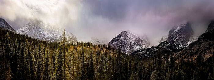 The Moody Rocky Mountains