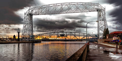 Aerial Lift Bridge, Duluth, Minnesota
