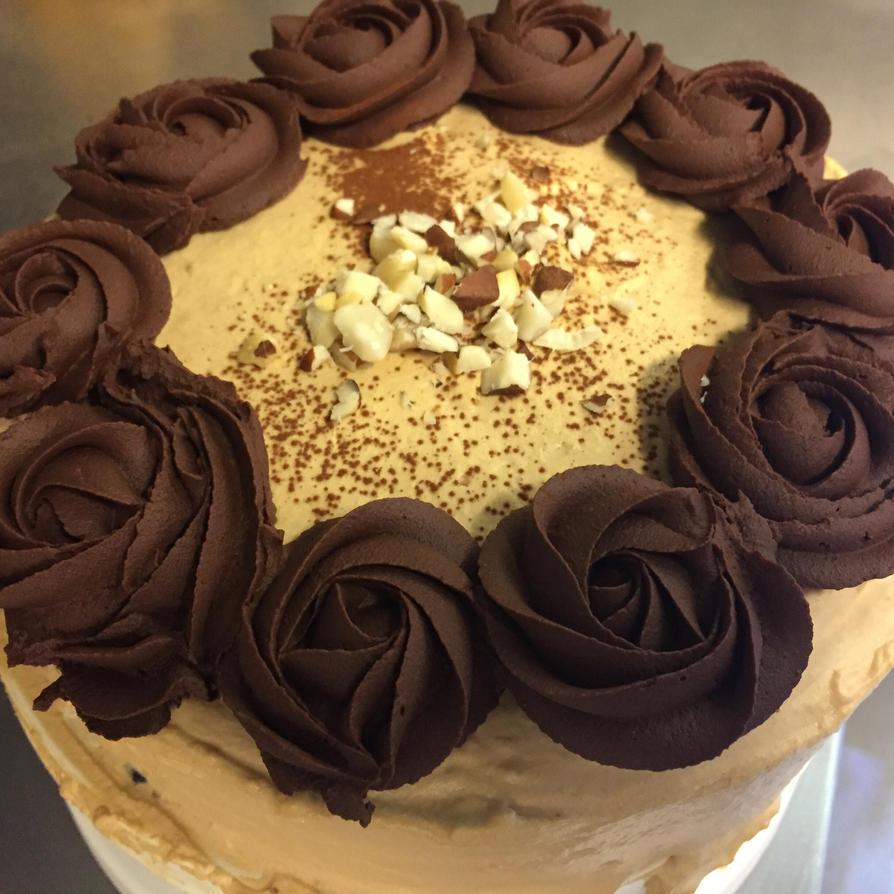Brazil Nut And Coffee Cake
