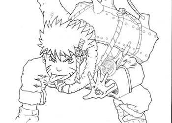 Naruto fan-art again by Afrox