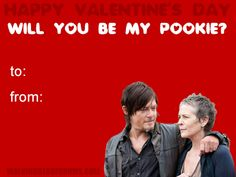 Will You Be My Pookie? By TaliTheStrange TWD Valentine ...