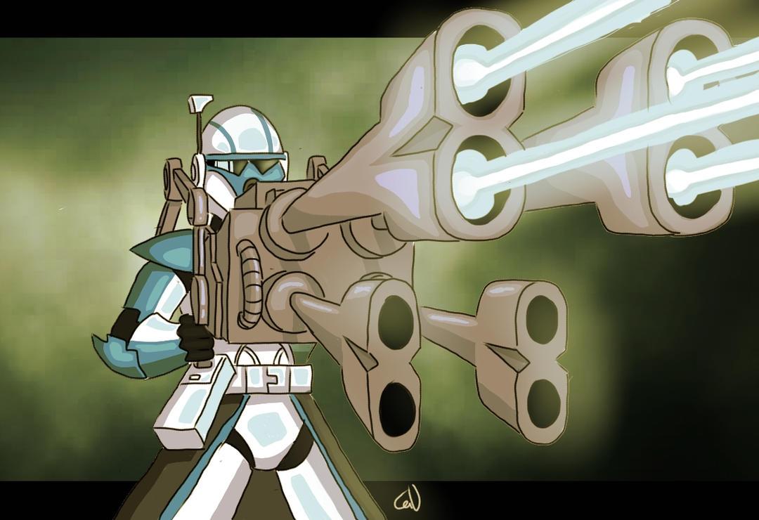 Heavy artillery by SmacksArt
