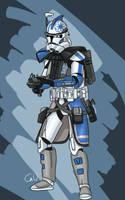 ARC trooper Ghost by SmacksArt