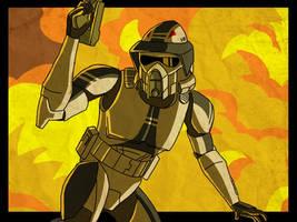 ARF trooper Smack by SmacksArt