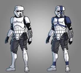 Stormtroopers Light Commandos