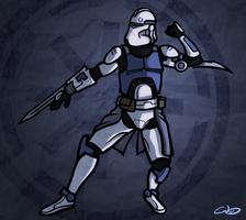 Clone Assassin by SmacksArt