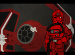 Emperor's guard - Tie Interceptor