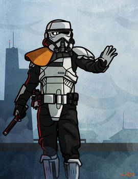 Imperial Patrol Commander