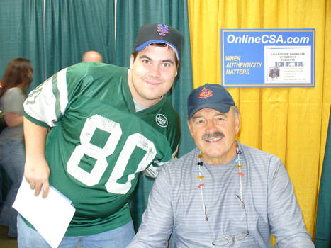 me and dick butkus