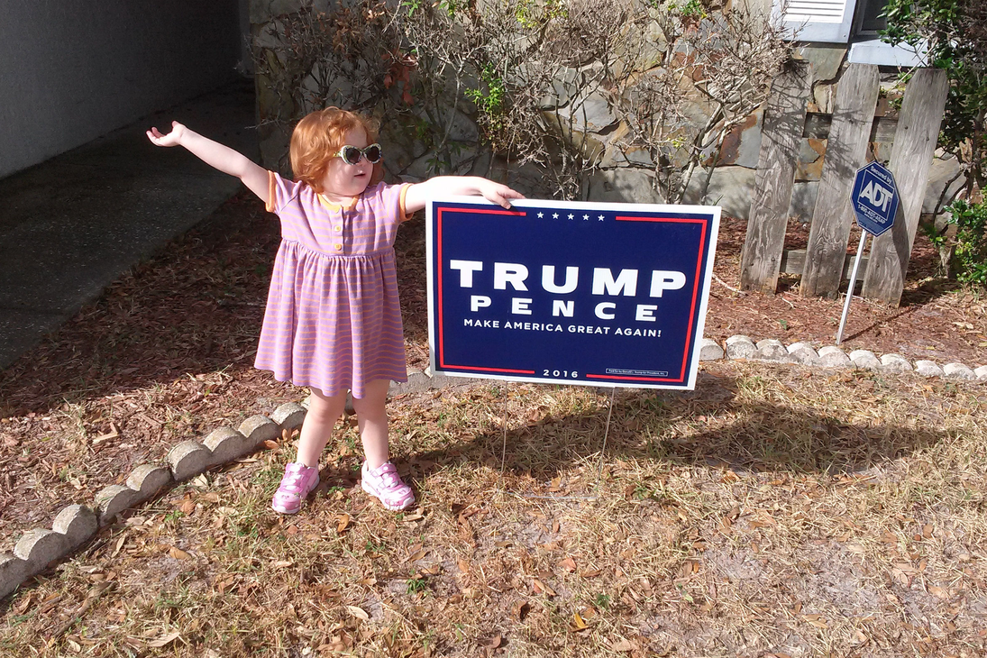 Cara It's a great day in the USA! President Trump! by docweasel