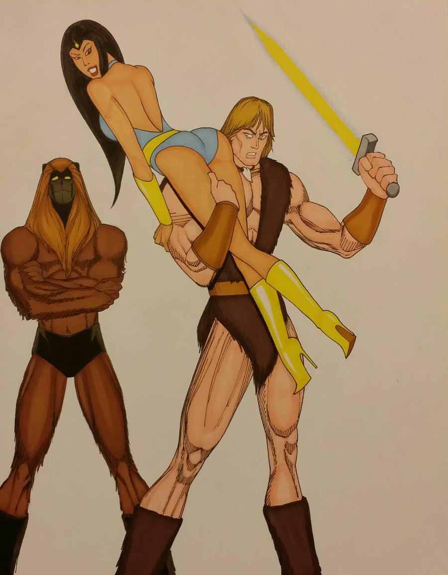 Girl big ass sph Thundarr The Barbarian Princess Ariel Ookla By Dirtydennis Inc On Deviantart