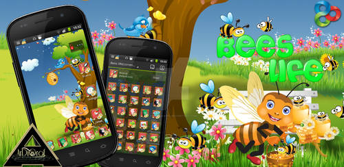 Bees Life - GO Launcher EX by PatriziaNofi