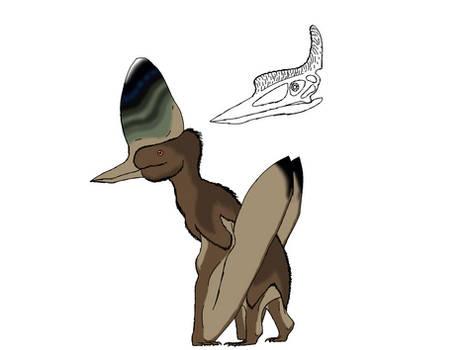 Oneiropterus mollisummis The Dream Pterosaur by TheDilophoraptor