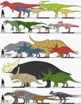 Broncosaurus Rex: Set 1
