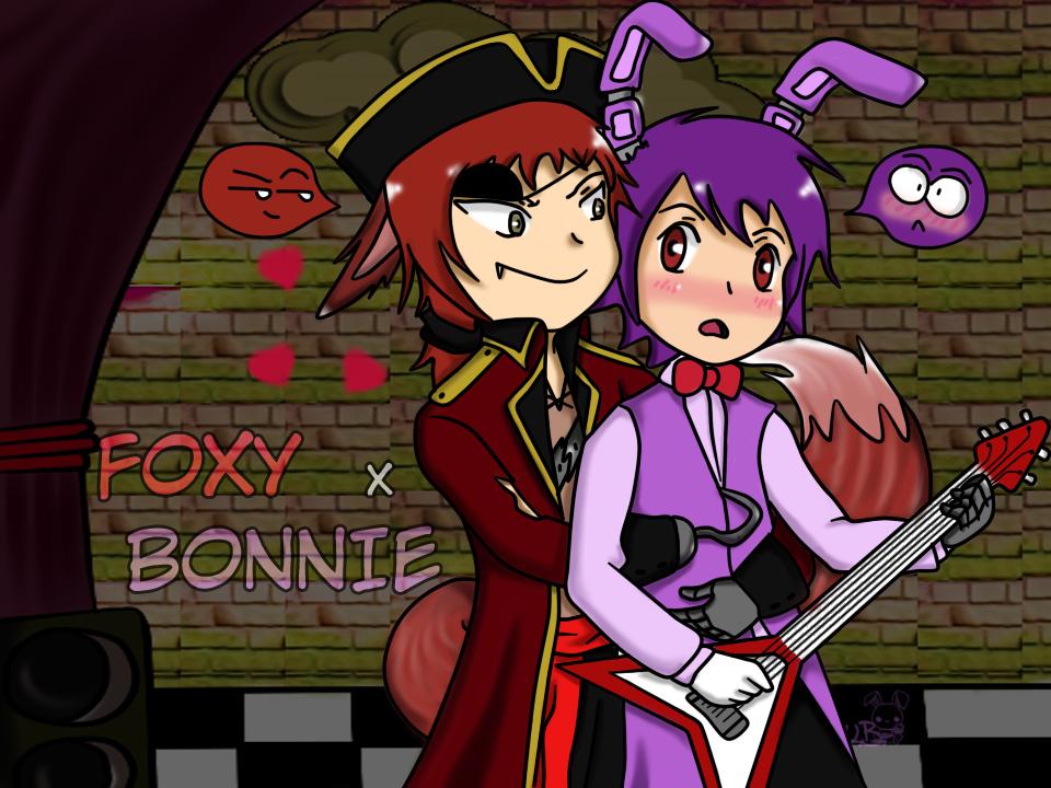 Fonnie foxy x bonnie by ubusagibusagi on deviantart