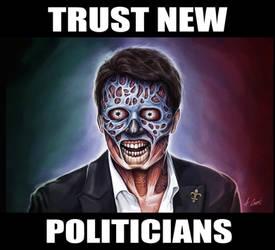 Trust New Politicians by AlessandroConti