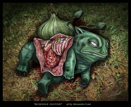 bulbasaur anatomy DEVIANT