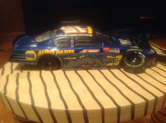 Michael Waltrip 2003 -custom- damaged side by knucklesfan29