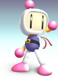 Bomberman of Brawl by hextupleyoodot