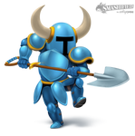 Shovel Knight Smashified (Transparent)
