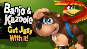 Banjo and Kazooie Get Jiggy With It by hextupleyoodot