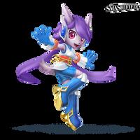 Lilac Smashified Transparent by hextupleyoodot