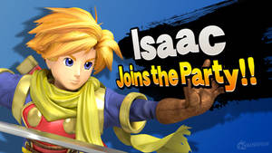 Isaac Joins the Party!