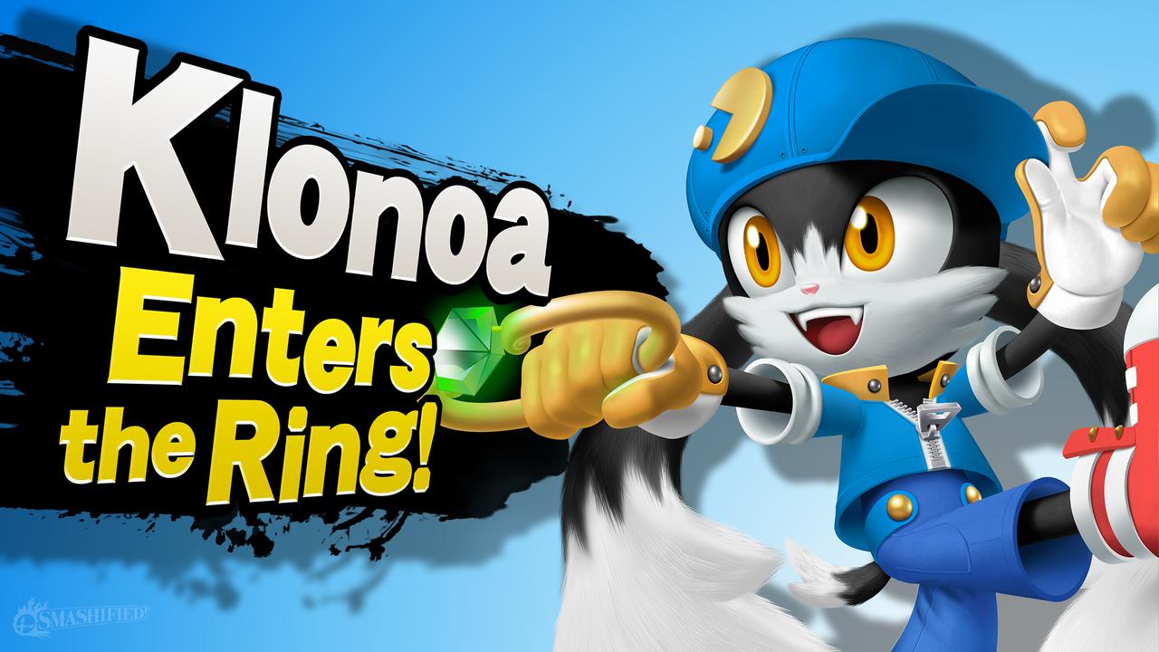 Klonoa Enters the Ring! by hextupleyoodot