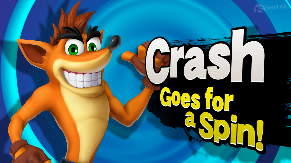Crash Goes for a Spin! by hextupleyoodot