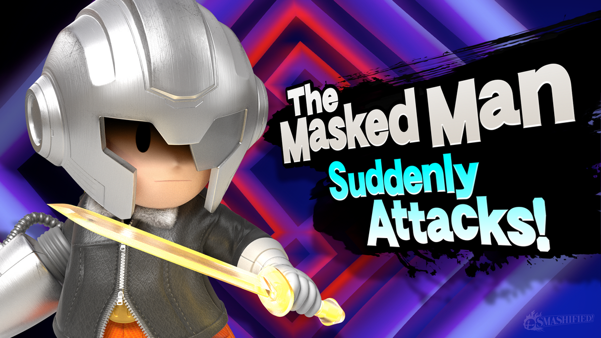The Masked Man Suddenly Attacks! by hextupleyoodot