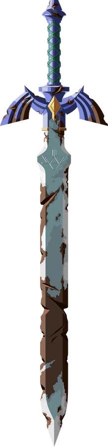 Rusted Master Sword (Hi-res)