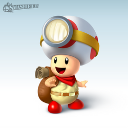 Captain Toad Smashified by hextupleyoodot