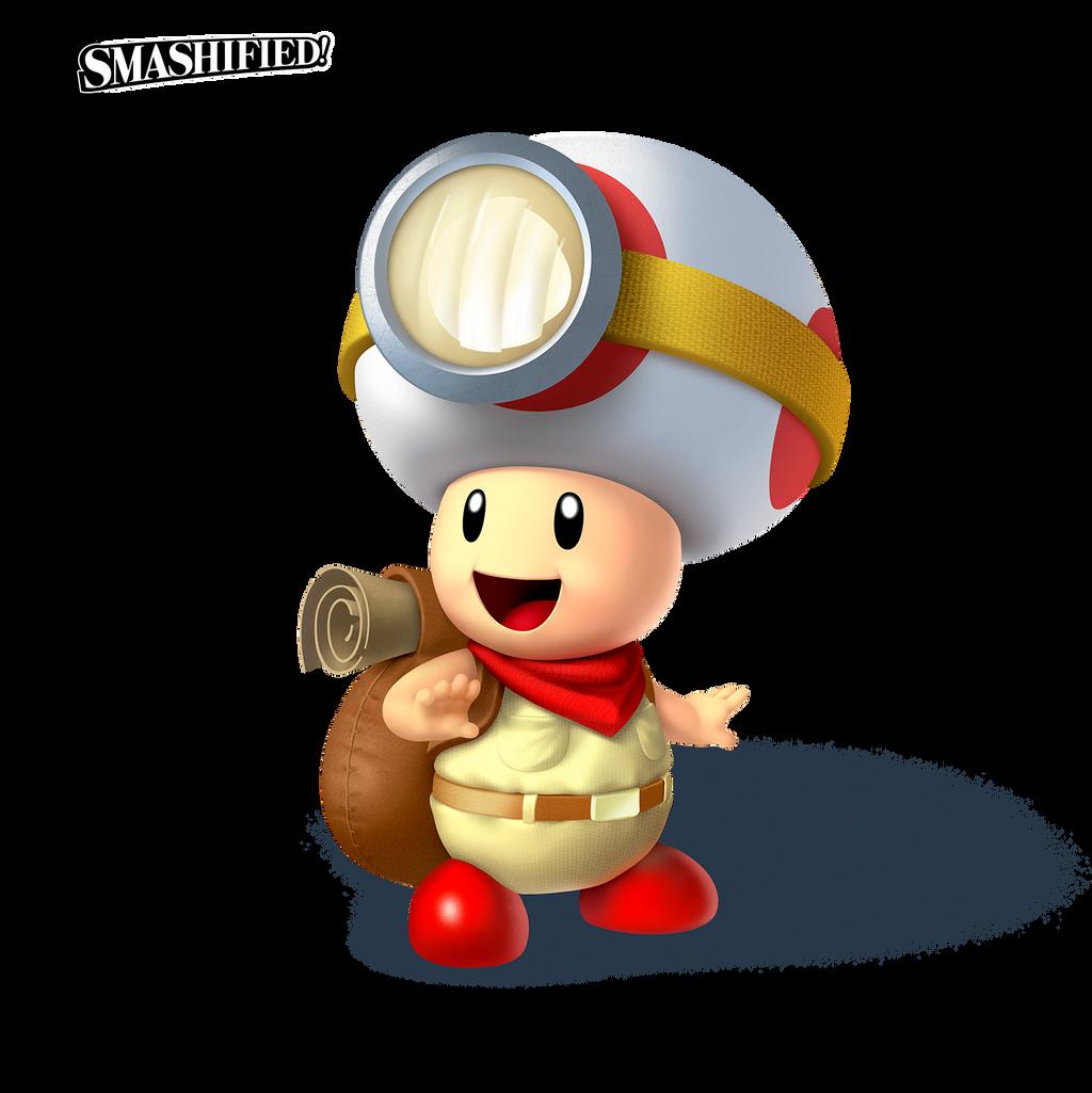 Captain Toad Smashified