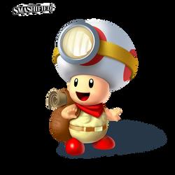 Captain Toad Smashified by hextupleyoodot
